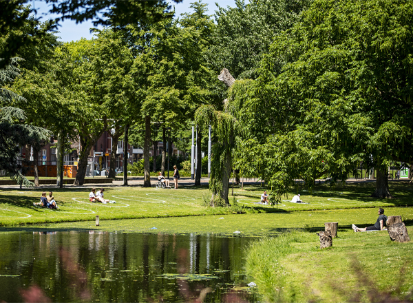 Heemraadssingel / Classic city park
